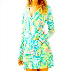 GORGEOUS NEW Lilly Pulitzer Rylie CoverUp XL